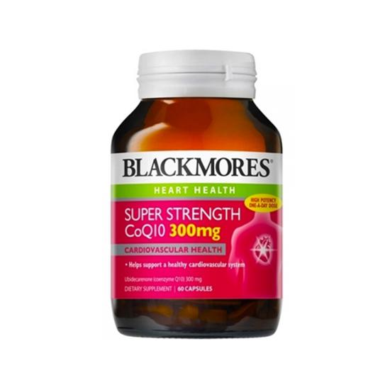 【直邮价】Blackmores 百丽康 辅酶Q10 300mg 60粒(大瓶装)保质期:2023.7