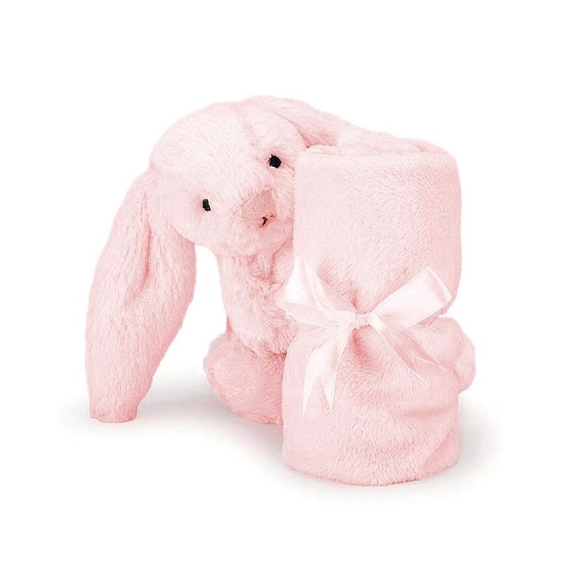 Jellycat 粉色邦尼兔安抚巾 约13cm SOB444P